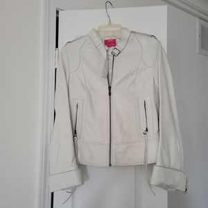 Authentic Mackage Genuine Leather. White. Size XS